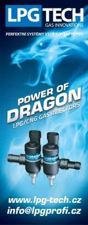 vstřikovače LPG TECH Dragon