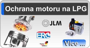 Auto na LPG a ochrana motoru na LPG
