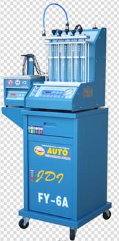 Testování a čištění benzínových vstřikovačů