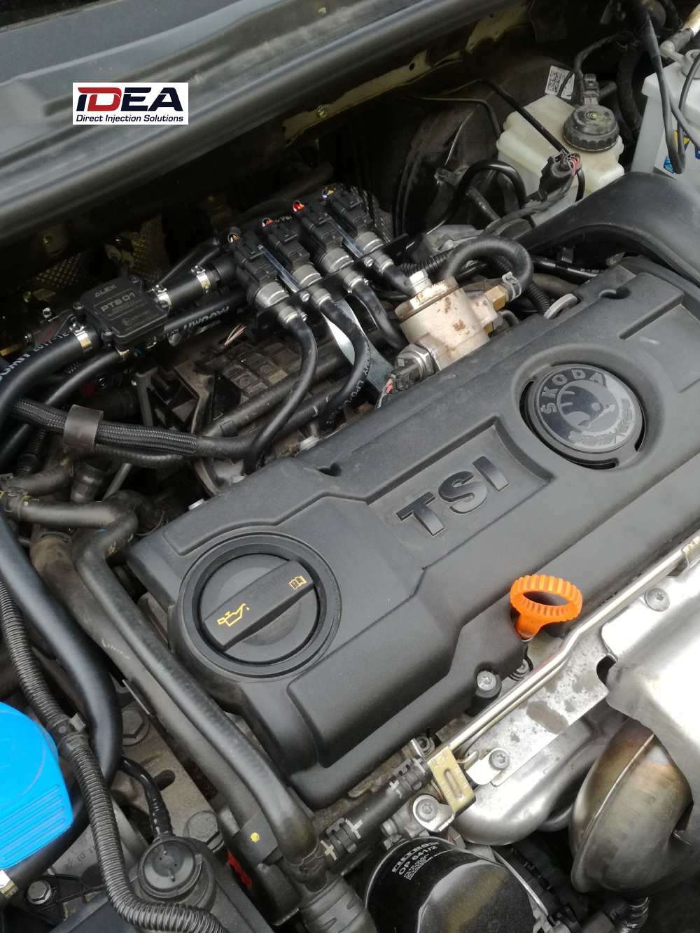 Škoda Roomster 1.2 TSI na LPG se systémem IDEA DI