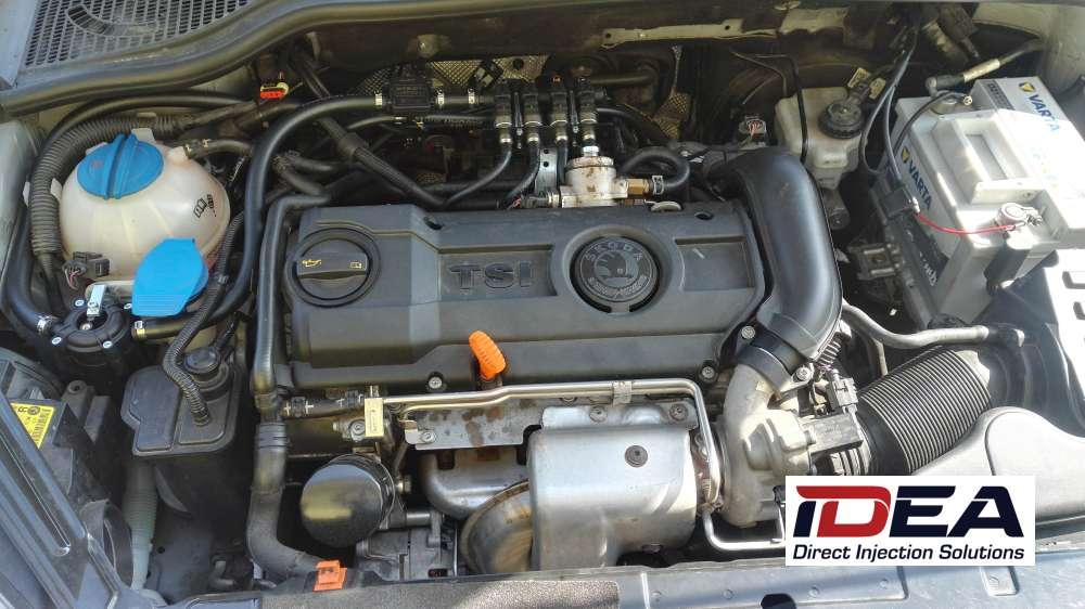 Škoda Yeti 1.4 TSI na LPG přímé vstřikování