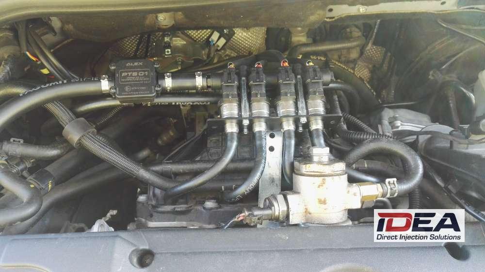 Škoda Yeti 1.4 TSI na LPG vstřikování Alex Idea se vstřikovači LPG Barracuda