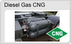 Dieselgas CNG - přestavby dieselů na CNG