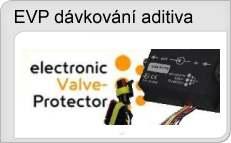 Elektronické dávkování aditiva přimazávání LPG