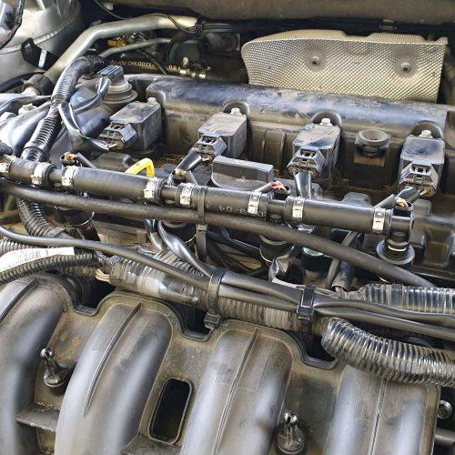 Mazda 6 Skyactiv na LPG motor 2.5 124kW a vstřikovače Barracuda LPG