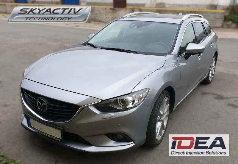 Mazda 6 Skyactiv 2.5 přestavba na LPG se systémem Alex Idea DI