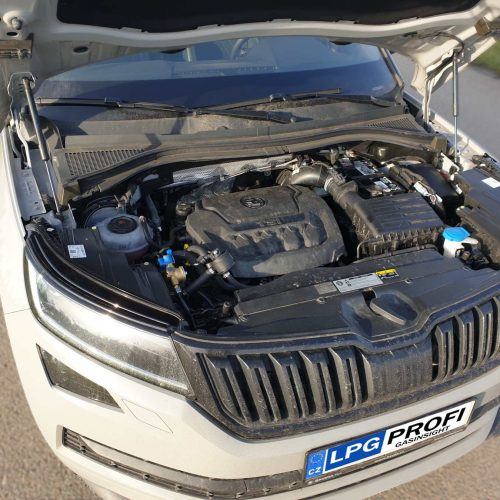 Škoda Kodiaq 2.0 TSI na LPG sekvenční vstřikování plynu u duálního systému TSI