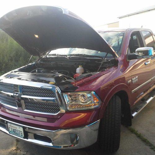 Dodge RAM 1500 5.7 HEMI přestavba na LPG s elektronickým dávkováním aditiva LPG pro ochranu motoru při provozu na LPG