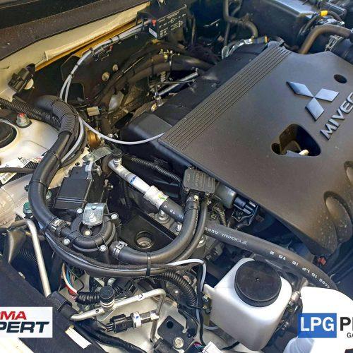 Mitsubishi Outlander přestavba na lpg