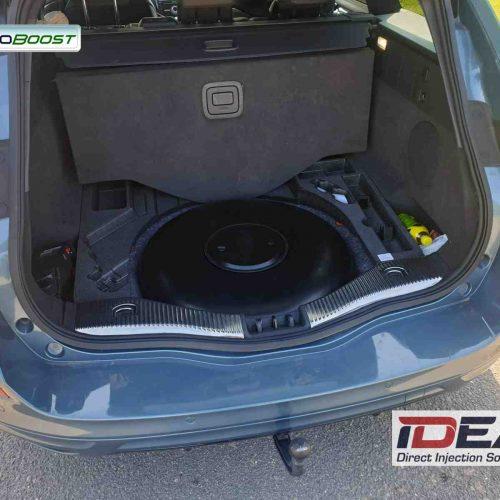Ford Mondeo 1.5 Ecoboost na LPG nádrž místo rezervy