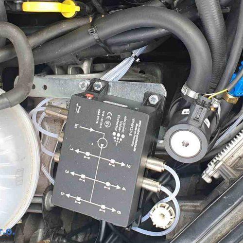 Škoda Superb 2.0 TSI 4x4 L&K 200kw na LPG EVP - Elektronické dávkování aditiva